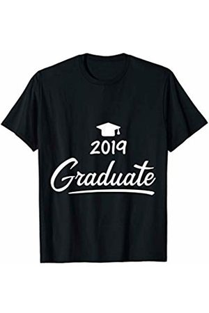 ShirtFlip 2019 Graduation Hat with Tassel (Mortarboard) T-Shirt T-Shirt