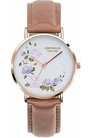 ORPHELIA Womens Analogue Classic Quartz Watch with Leather Strap OF711817