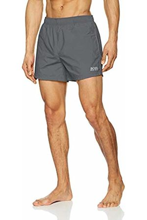 HUGO BOSS Men's Perch Swim Trunks, (Dark 022)