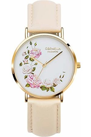 ORPHELIA Womens Analogue Classic Quartz Watch with Leather Strap OF711816