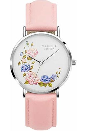 ORPHELIA Womens Analogue Classic Quartz Watch with Leather Strap OF711815