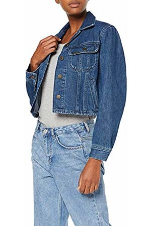 Lee Women's Cropped Rider Jacket Denim