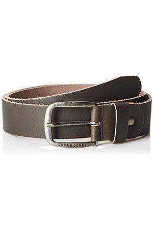Jack & Jones NOS Men's Jacpaul Leather Belt Noos Castlerock)