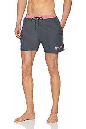 HUGO BOSS Men's Starfish Swim Trunks, (Dark 022)