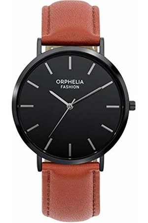 ORPHELIA Mens Analogue Classic Quartz Watch with Leather Strap OF761805