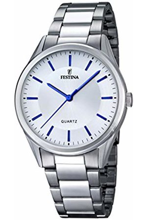 Festina Men's Quartz Watch with Dial Analogue Display and Stainless Steel Bracelet F16875/3
