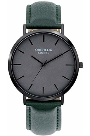 ORPHELIA Mens Analogue Classic Quartz Watch with Leather Strap OF761806