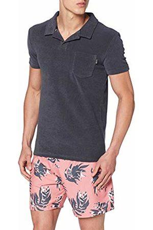 HUGO BOSS Men's Beach Polo Shirt T (Dark 022)