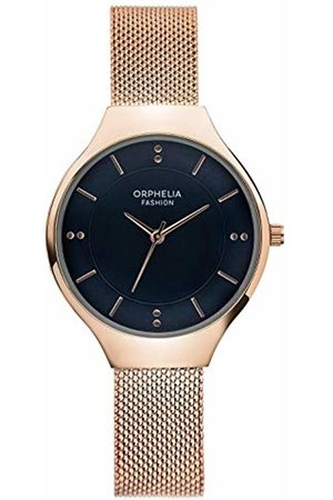 ORPHELIA Womens Analogue Classic Quartz Watch with Stainless Steel Strap OF714805