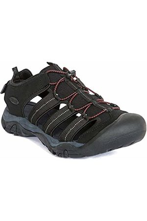 Trespass Men's Torrance Closed Toe Sandals, Blk
