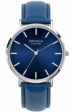 ORPHELIA Mens Analogue Classic Quartz Watch with Leather Strap OF761804