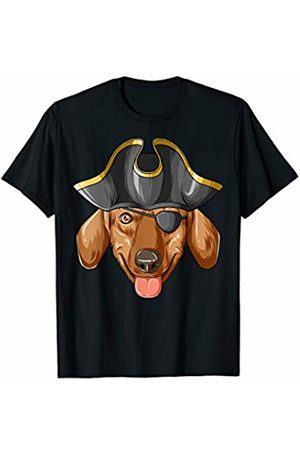 Dachshund Realm Pirate Dachshund Pirates Hat Dachshund T-Shirt