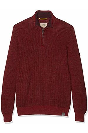 Camel Active Men's Stand UP Mouline Rib Jumper