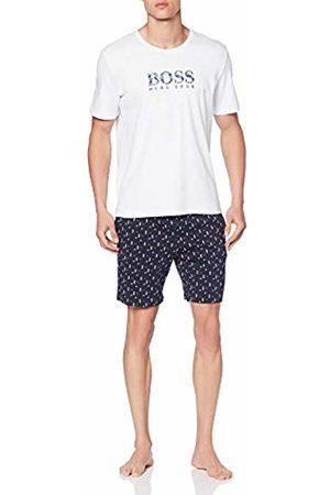 HUGO BOSS Men's Relax Short Set Pyjama (Dark 402)