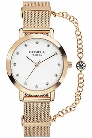 ORPHELIA Womens Analogue Classic Quartz Watch with Stainless Steel Strap OF714802