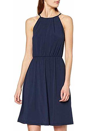 Vila Women's Vitaini S/l Short Dress Navy Blazer