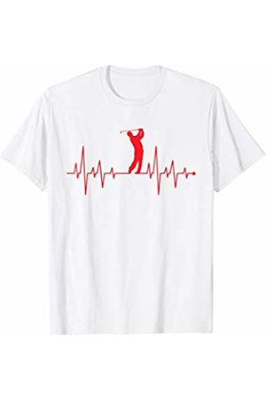 Golf Heartbeat Shirt Golf Heartbeat T-Shirt