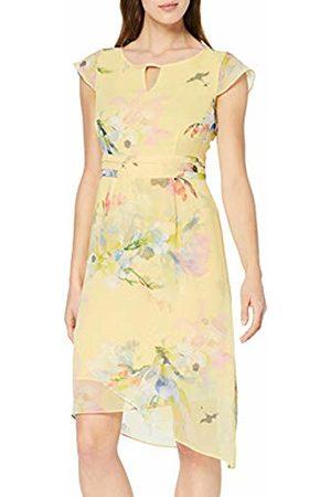 Comma, Women's 81.904.82.8213 Dress, Inkjet Flower 13c3