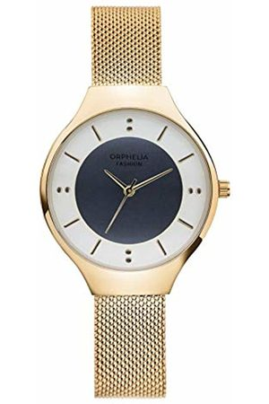ORPHELIA Womens Analogue Classic Quartz Watch with Stainless Steel Strap OF714804