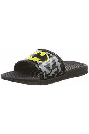 Batman Boys Kids Aqua Slippers Open Toe Sandals 12 UK