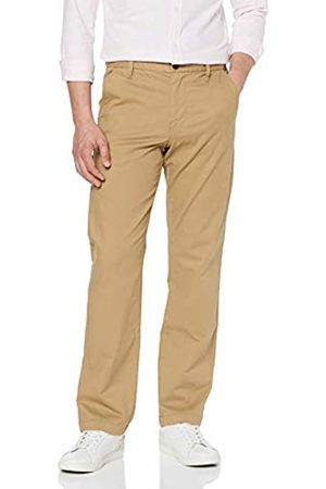 MERAKI Men's Stretch Regular Fit Chino Trousers