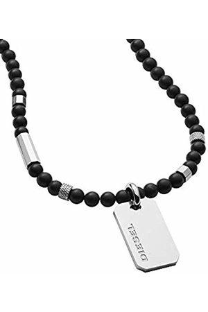 Diesel Men Stainless Steel Pendant Necklace DX1157040