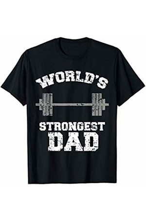 Happy Cool Cute Fathers Day 2019 Gift Outfit Idea Strong Dad Gym Best Daddy Ever Gift Fathers Day Outfit T-Shirt