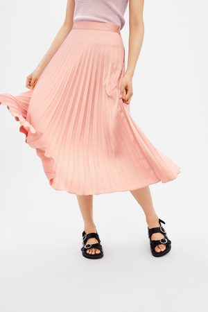 8dcd9140d Buy Zara Pleated Skirts for Women Online   FASHIOLA.co.uk   Compare ...