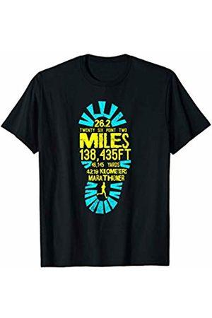Marathon Running 26.2 Shirts Marathon Runner Footprint Mens Womens Hoodie Shirt Tank Top T-Shirt