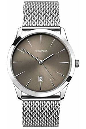 Sekonda Watches Mens Analogue Classic Quartz Watch with Stainless Steel Strap 1587.27