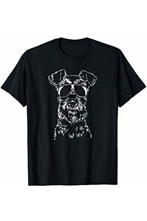 Irish Terrier Fan T-shirts - Funny Proud Irish Terrier sunglasses cool dog gift T-Shirt