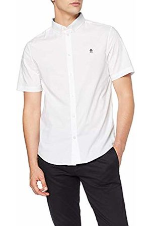Original Penguin Men T-shirts - Men's Poplin Casual Shirt, (Bright )