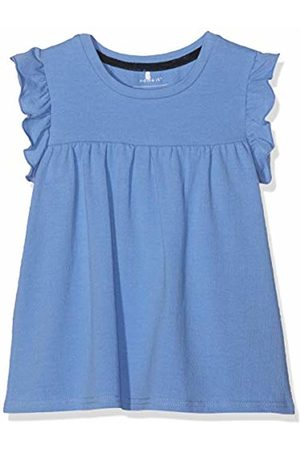 Name it Girls' NMFFIMIE SS TOP Tank, Blau Bonnet