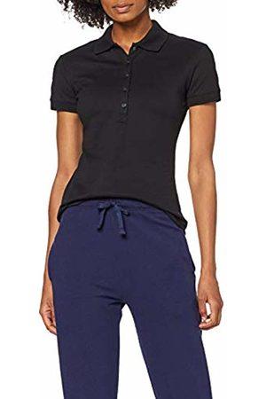 Trigema Women's 526611 Polo Shirt, (Schwarz 008)