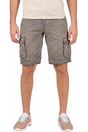 Timezone Men's Loose Maguiretz Cargo Shorts Incl. Belt (Washed Sand 6075)