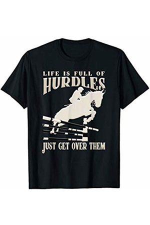 Horse Rider Gifts Show Jumping Horse Rider Equestrian Riding Horseback Sports T-Shirt