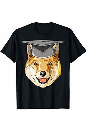 Shiba Gifts Shiba Graduation Graduate Hat Shiba T-Shirt
