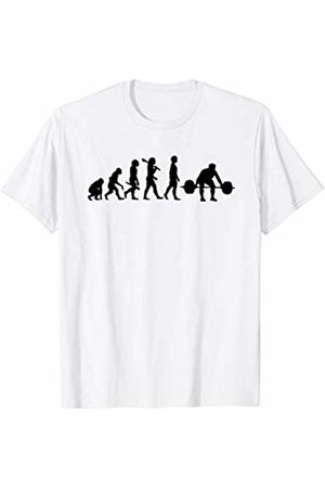 Weightlifter and Weightlifting TShirt Gifts Funny Weightlifting Shirt - Evolution Of A Weightlifter T-Shirt