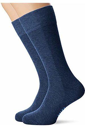 Falke Men's Happy Chaussettes Lot 2 Paires Calf Socks, (Royal 6000)