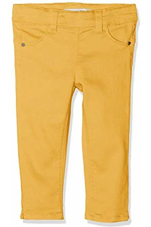 Name it Girls' NMFPOLLY TWIBATINNA Capri Legging Trousers, Gelb Pale Marigold