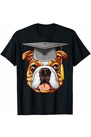 English Bulldog Gifts English Bulldog Graduation Graduate Hat English Bulldog T-Shirt
