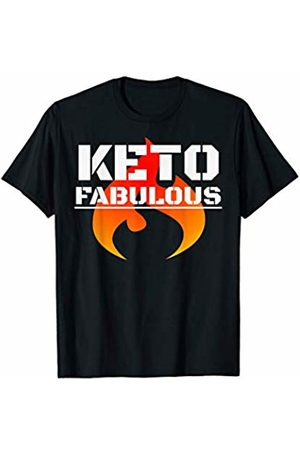 Keto Fabulous Design Shop Keto Fabulous Workout Ketogenic Diet Ketones Diet Fitness T-Shirt