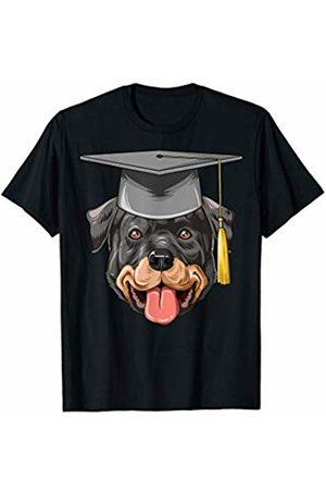 Rottweiler World Rottweiler Graduation Graduate Hat Rottweiler T-Shirt