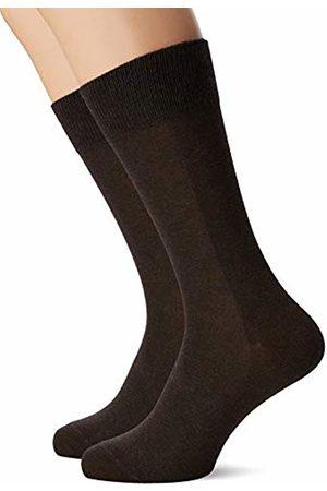 Falke Men's Happy Chaussettes Lot 2 Paires Calf Socks, (Dark 5450)