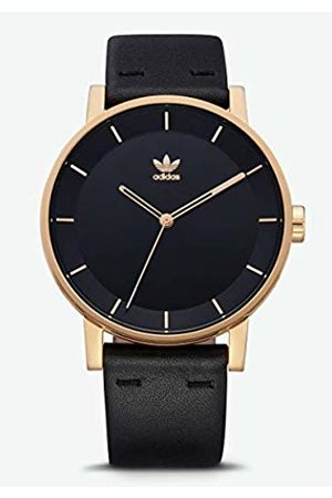 adidas Mens Analogue Quartz Watch with Leather Strap Z08-1604-00