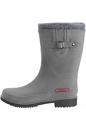 Doggo Adults' Lotte Winter Wellington Boots Grau 8 UK