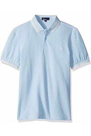 Fred Perry Men's M3600-f69-l Polo Shirt, (Sky Oxford F69)