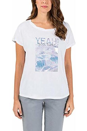 Timezone Women's Loose Fit Top T-Shirt, Pure 0100