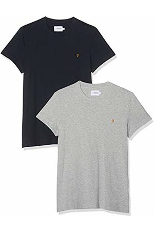 Farah Vintage Farris Twin Pack, Men's Slim Fit T-Shirt