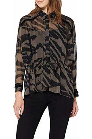 Religion Women's GEM Shirt Regular Fit V-Neck Long Sleeve Blouse